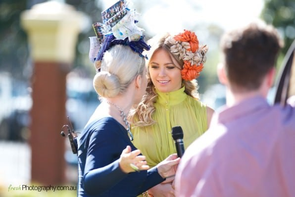 Melbourne Fashions on the field - Presenters