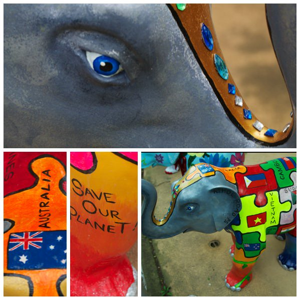 Athol Road Primary School Mali Elephant Sculpture