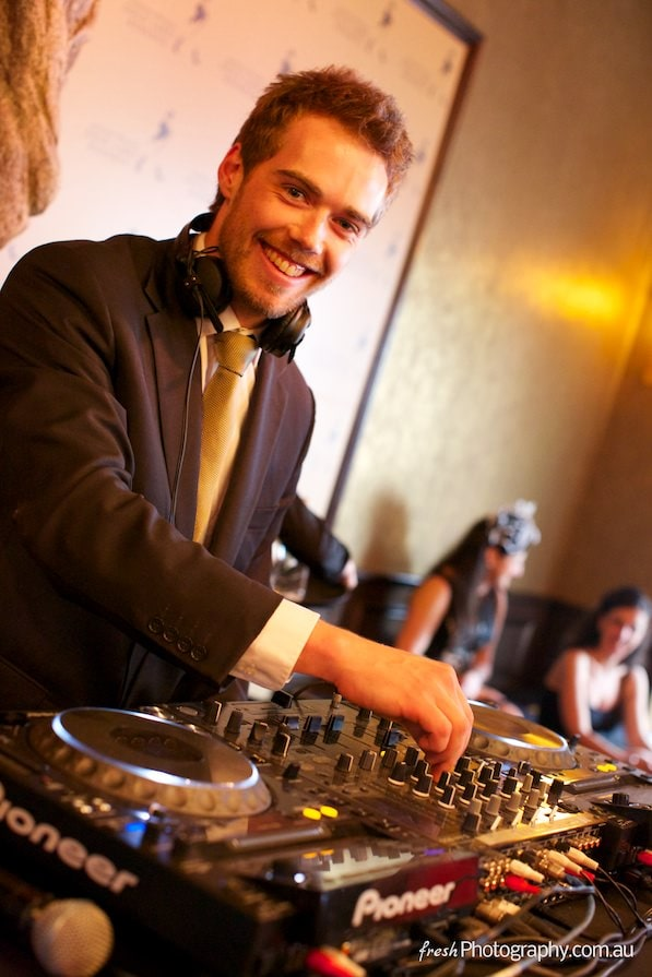 DJ - Music - Fun at Melbourne Cup