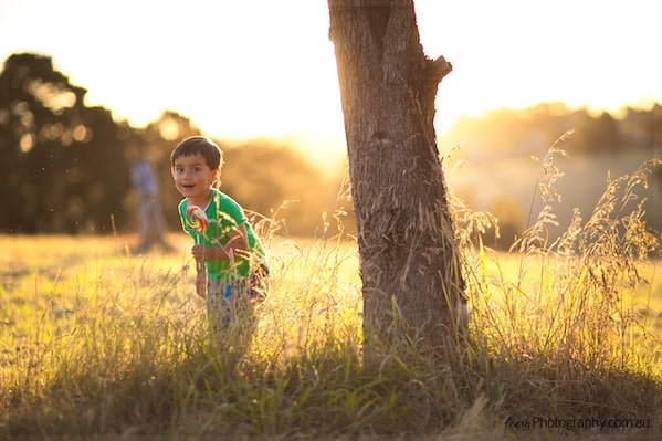 Sunset kids photoshoot