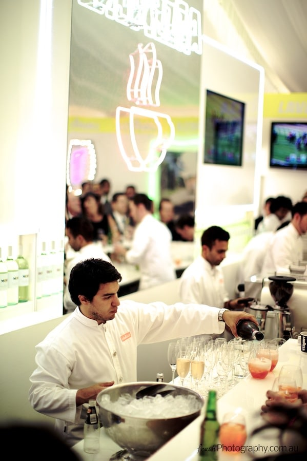 Lavazza Birdcage Marquee - Bar at Melbourne Cup