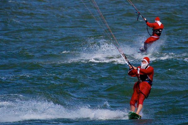 Santa Downwinder - Brighton - St Kilda - Melbourne
