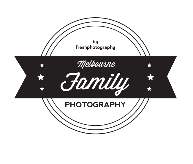 best melbourne family photography logo