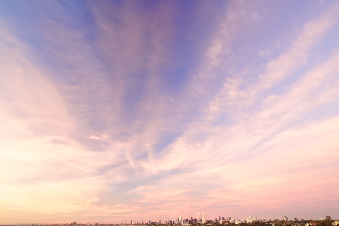 Amazing Melbourne Skyline from Elwood - St Kilda - Photography Melbourne