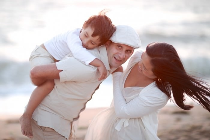 Family Photography at the beach in melbourne