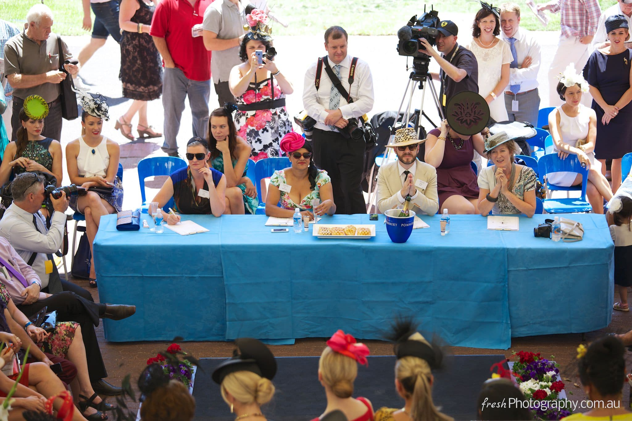 Fashions on the Field judges