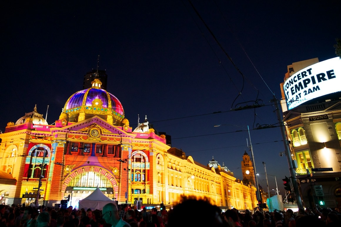 White Night Melbourne - Event Photography