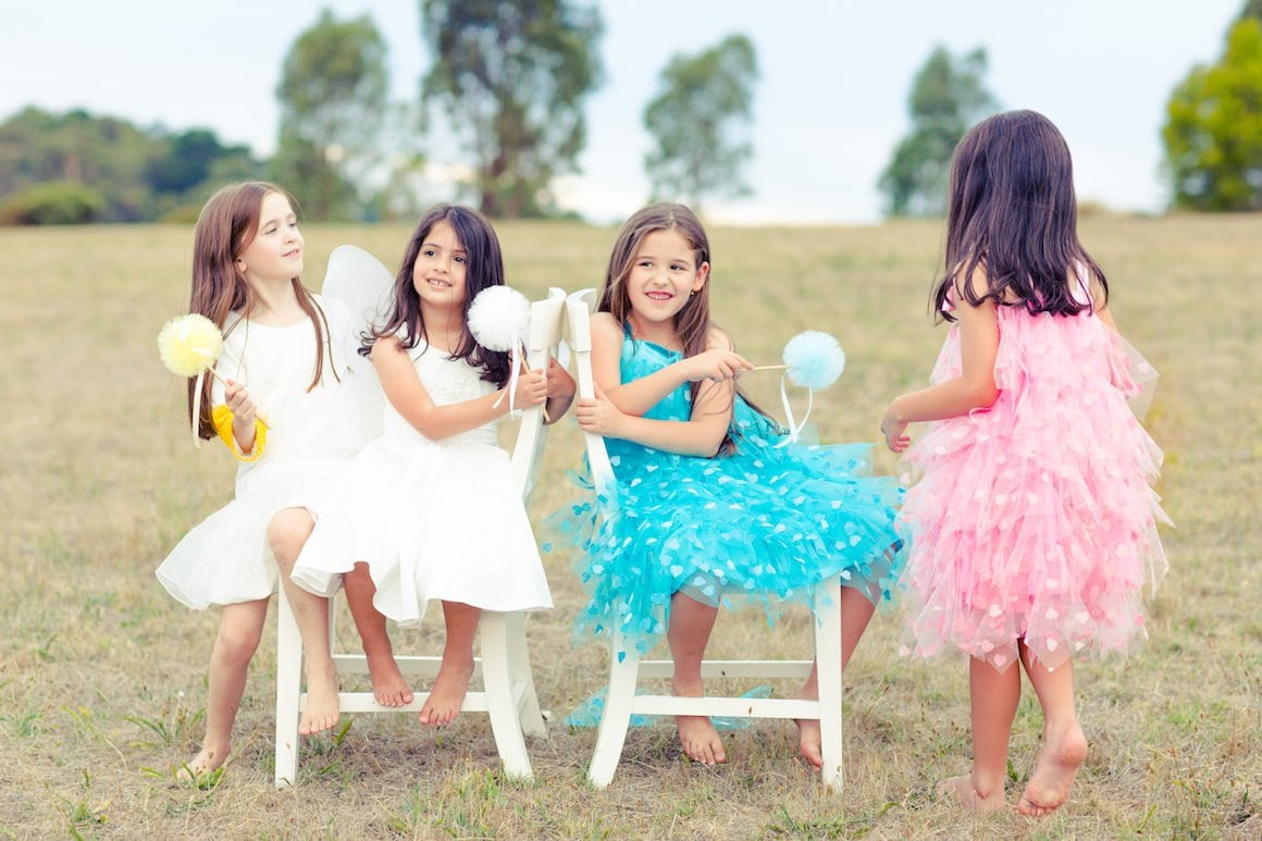 Styled Kids Photoshoot in Melbourne for ViaStyle Party Dress Hire