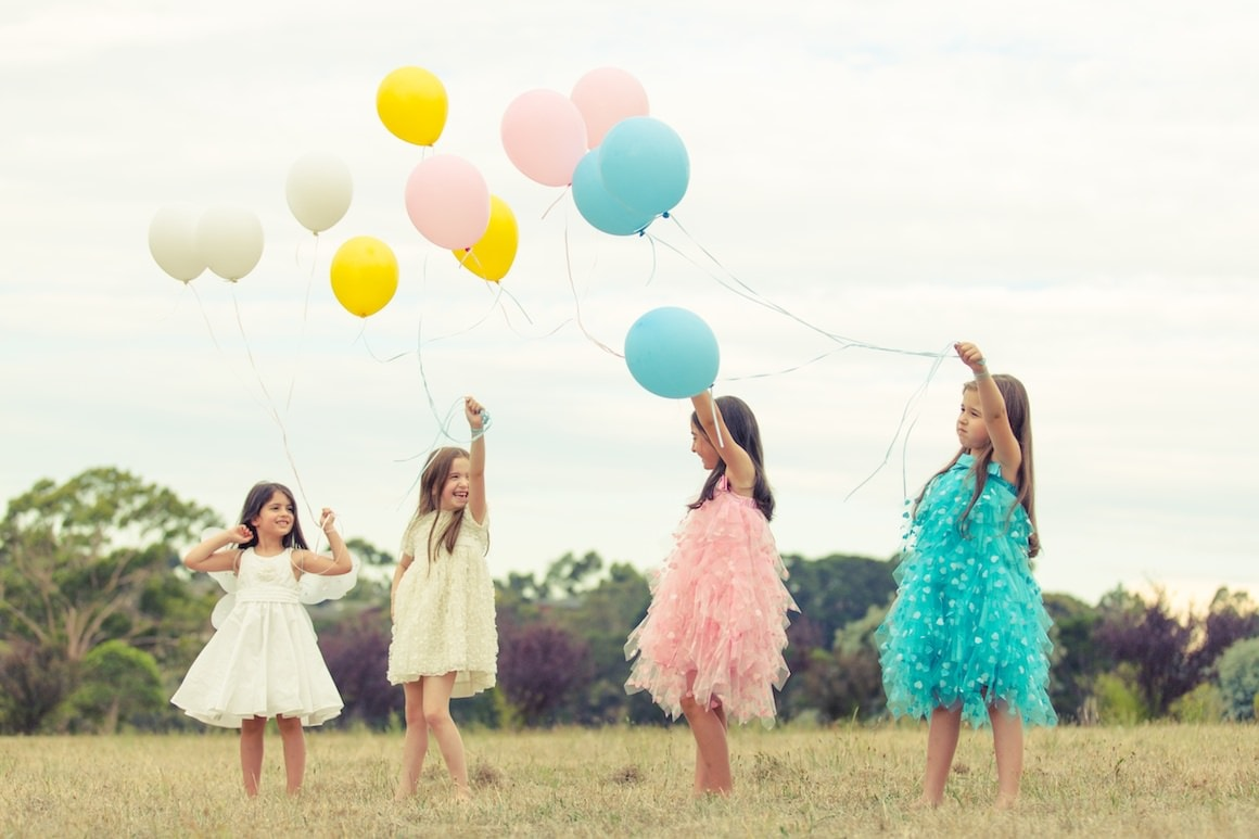 Happy kids photoshoot in melbourne - A summer shoot with freshPhotography