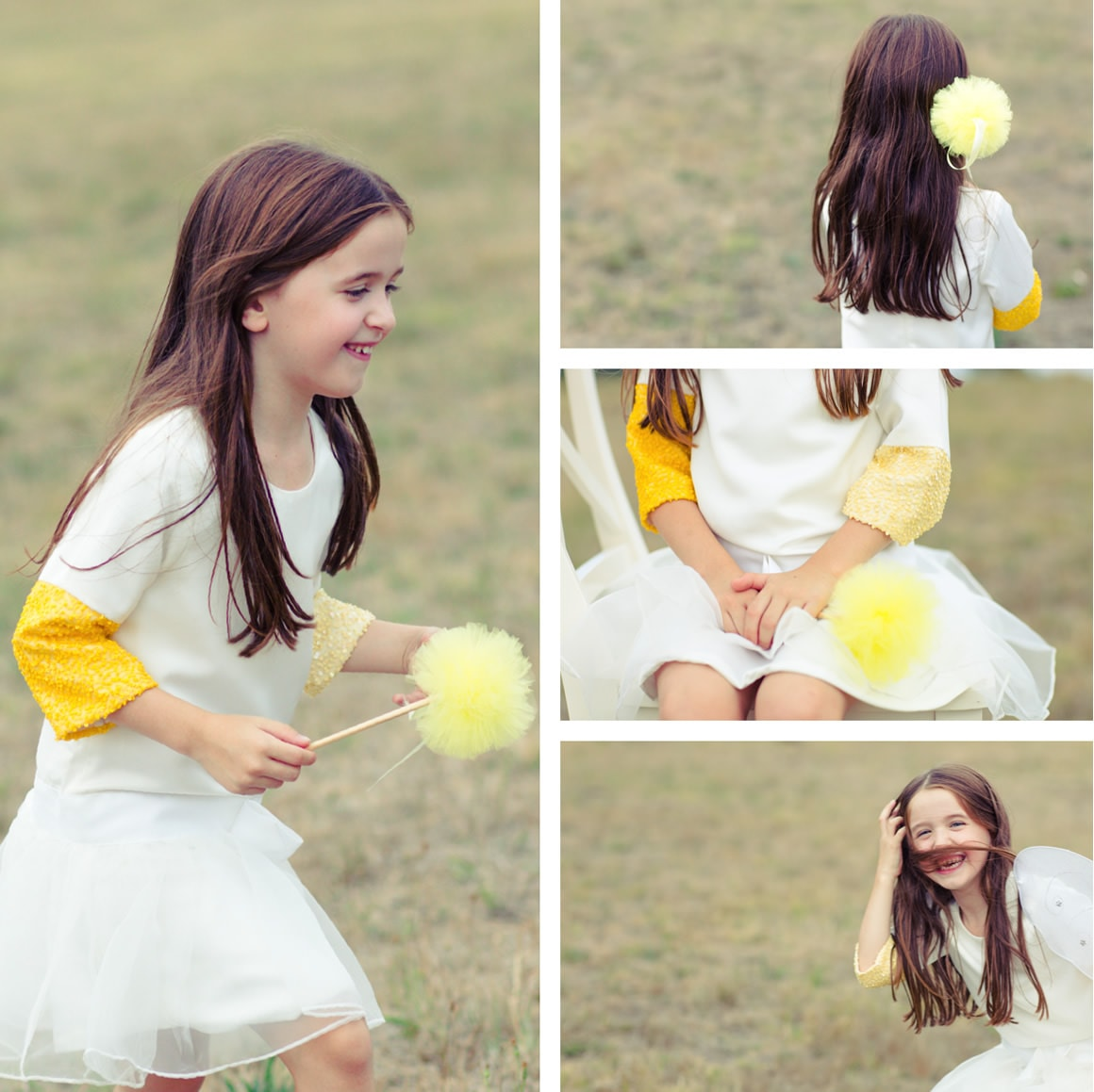 Photography melbourne - Kids Portraits and styled shoots - fun party dress shoot