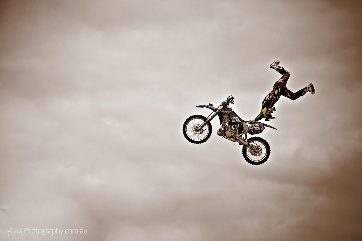 Nitro Circus Show Melbourne - Stuntman