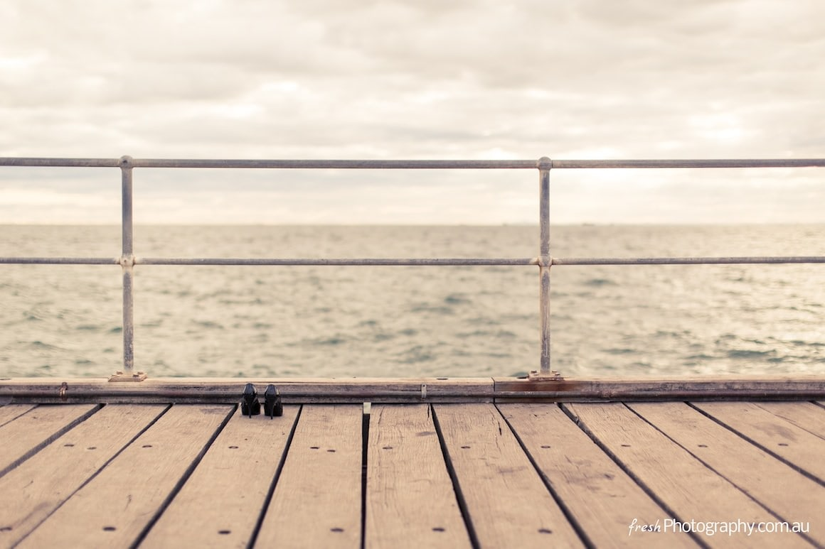 seaside pier - fine art photography for weddings