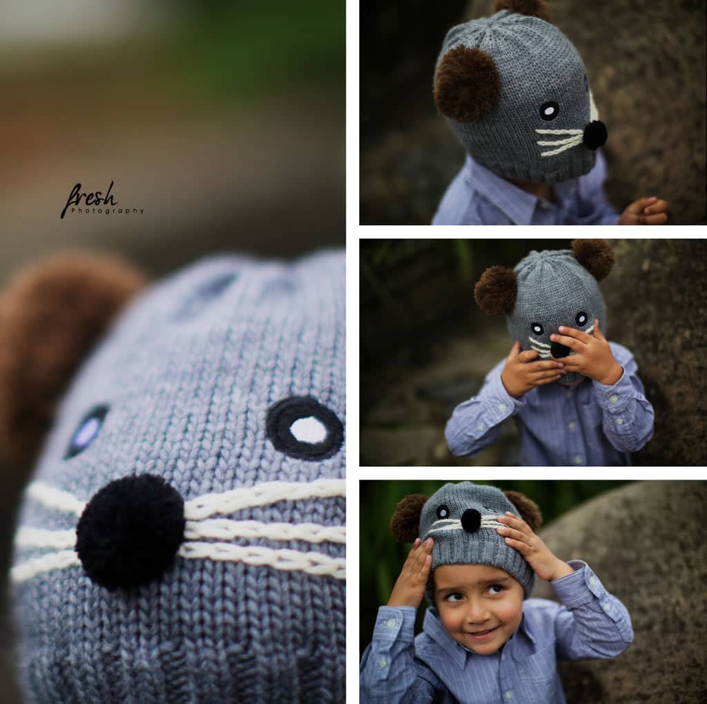 mouse costume for kids used in creative photo shoot