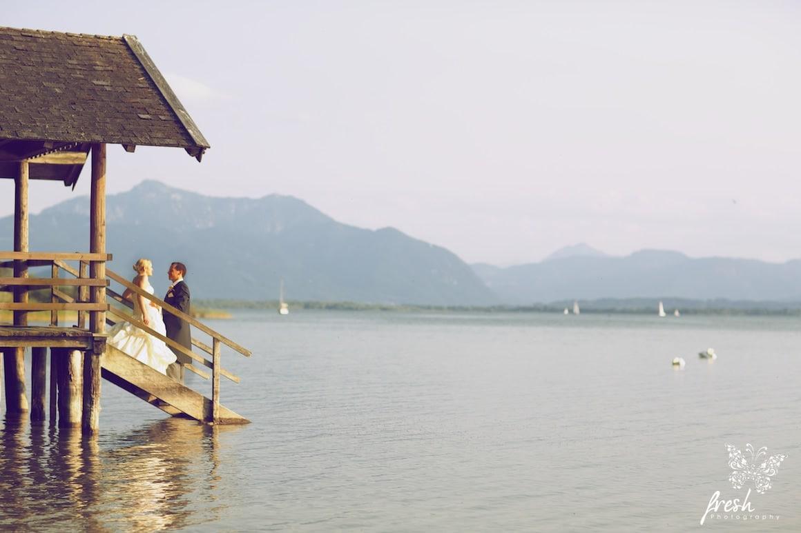 lake chiemsee - hochzeitsfotos