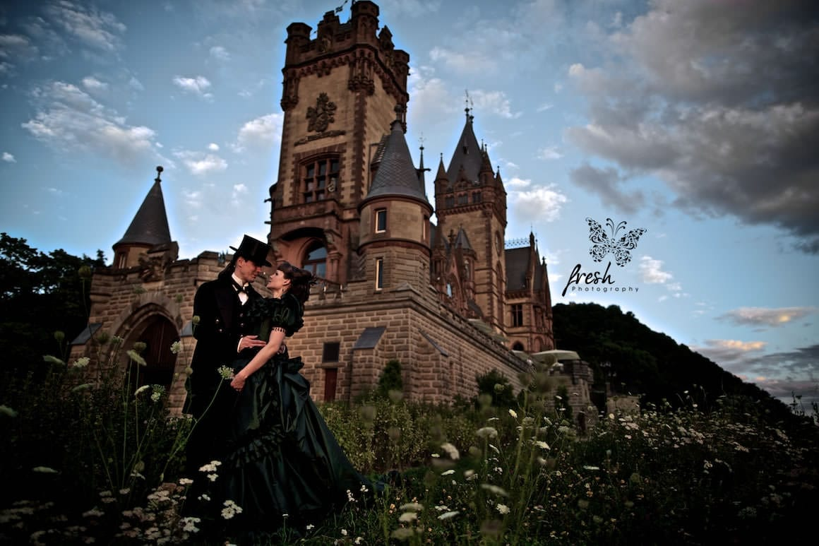 victorian castle wedding
