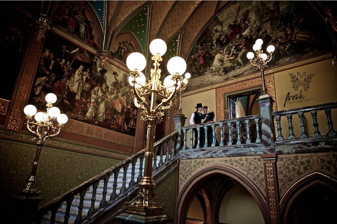 inside the palace - wedding