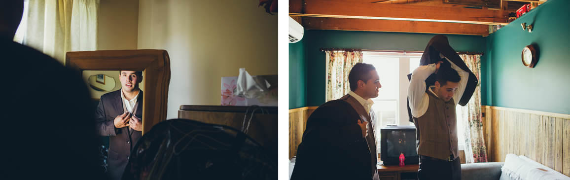 groomsmen vintage styled