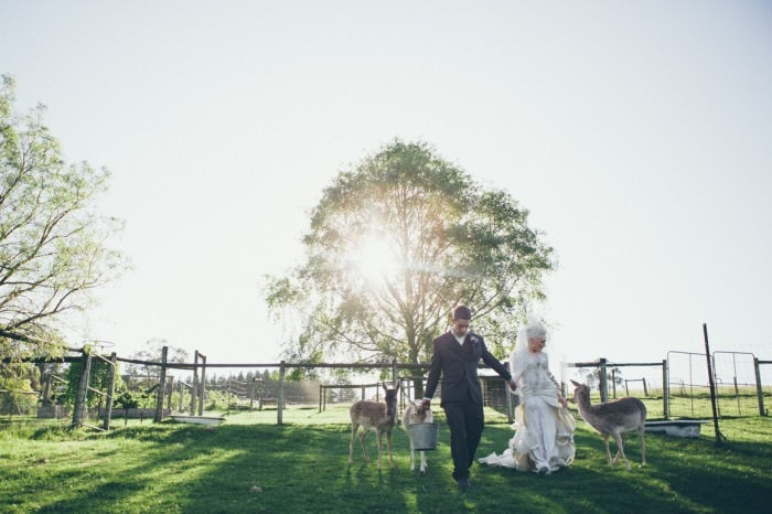 gum gully farm weddings - vintage barn wedding near melbourne - creative photojournalistic wedding photography