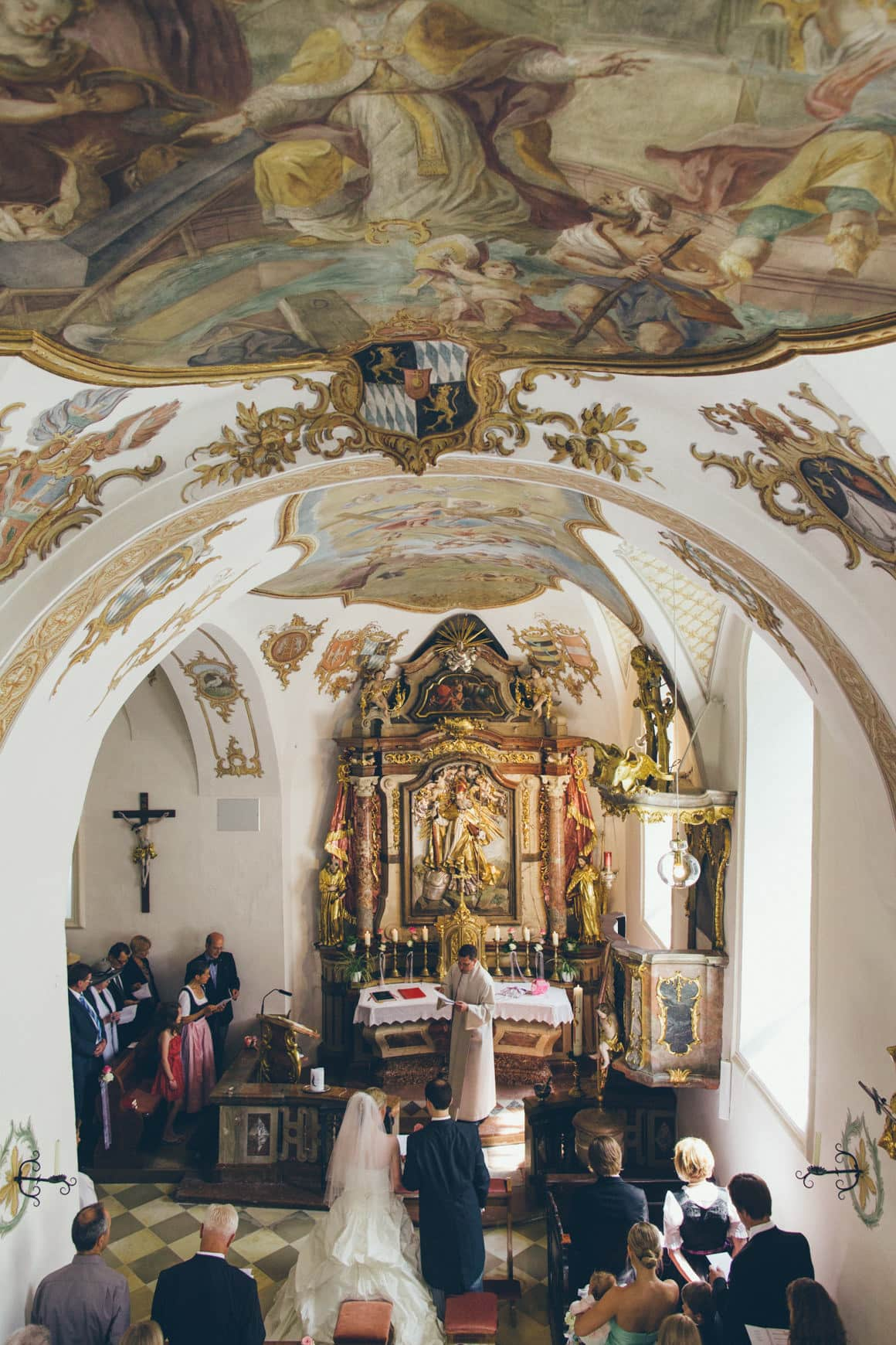 amazing church wedding