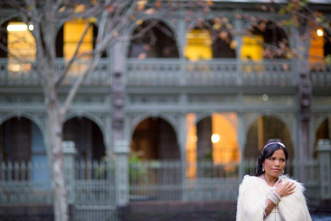 photo locations in melbourne - spring street - vintage feel and look - ideal for weddings