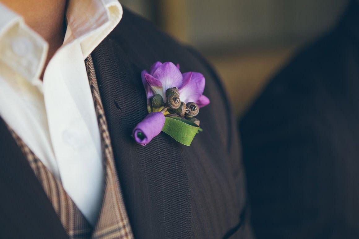 flowers - lapel