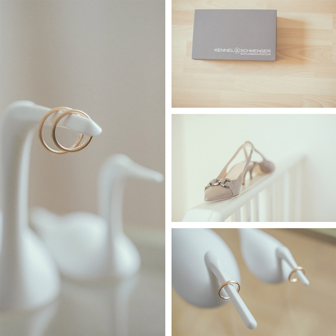 details of the bride - rings - creative photography