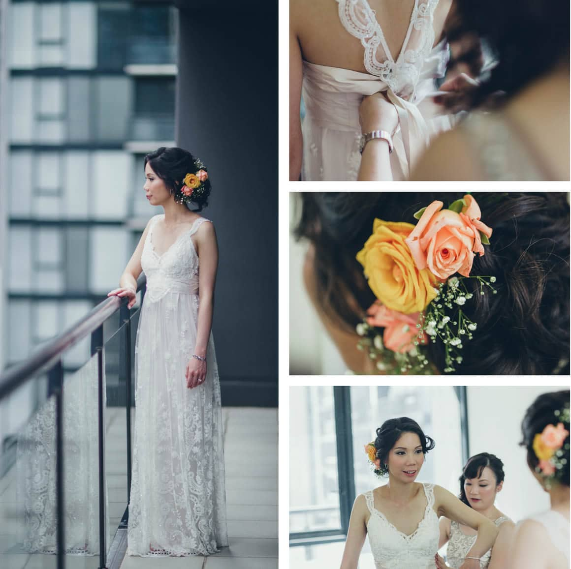 luxutry wedding photography - anna campbell dress