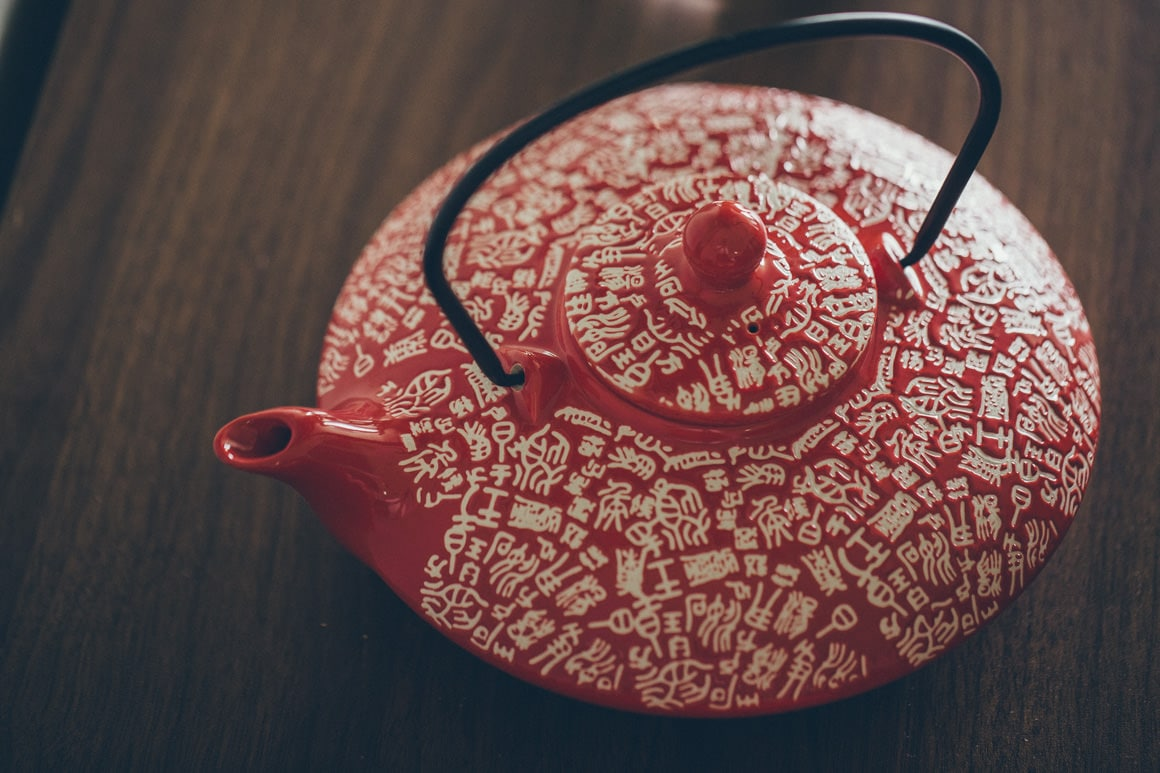 chinese tea pot for tea ceremony at melbourne wedding - chinese wedding photographer