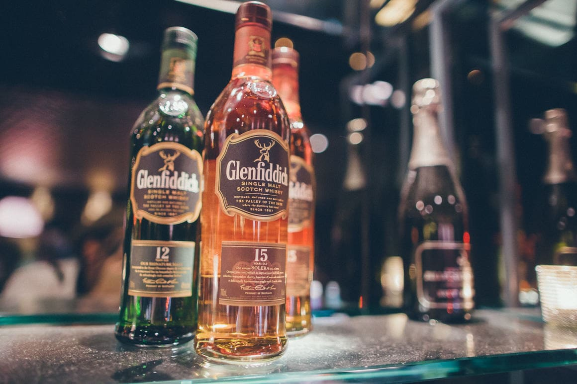 bottles - glenfiddich
