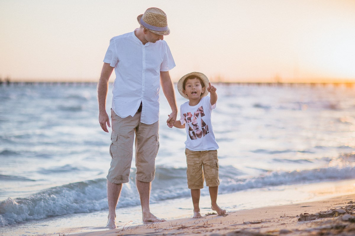 Dad and Boy - Family Photography in Melbourne