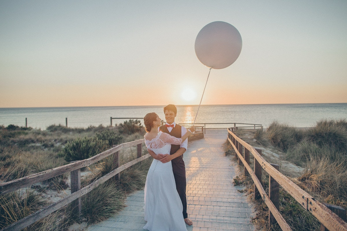 best beach wedding photography in melbourne - albert park - brighton - sandringham