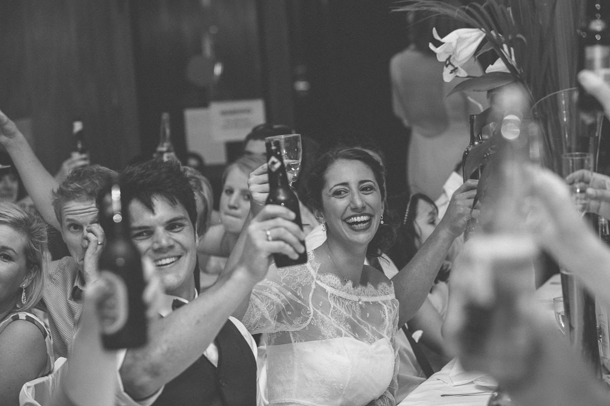 enjoying the evening - bride and groom happy - photography at weddings in melbourne