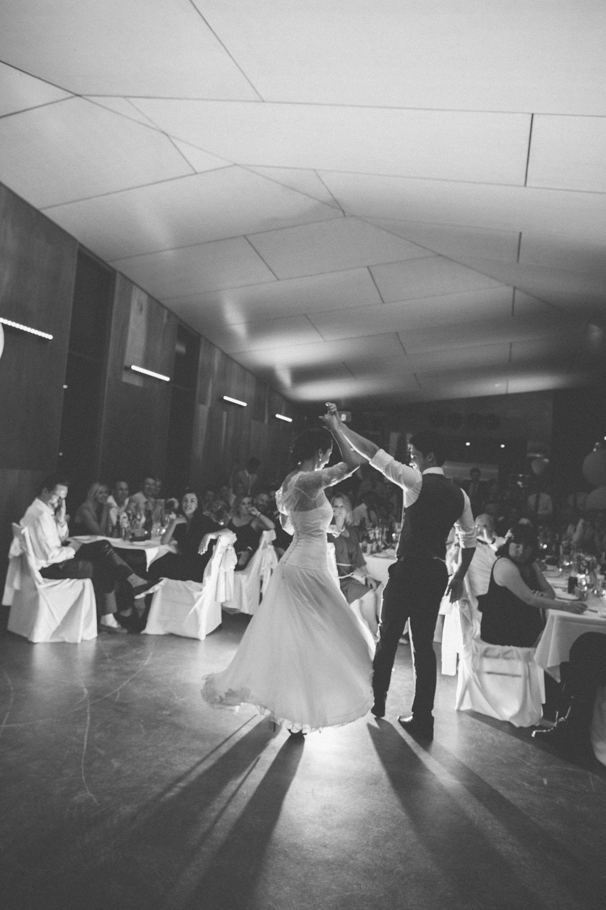first dance - beach wedding photography (carom down bowling club)