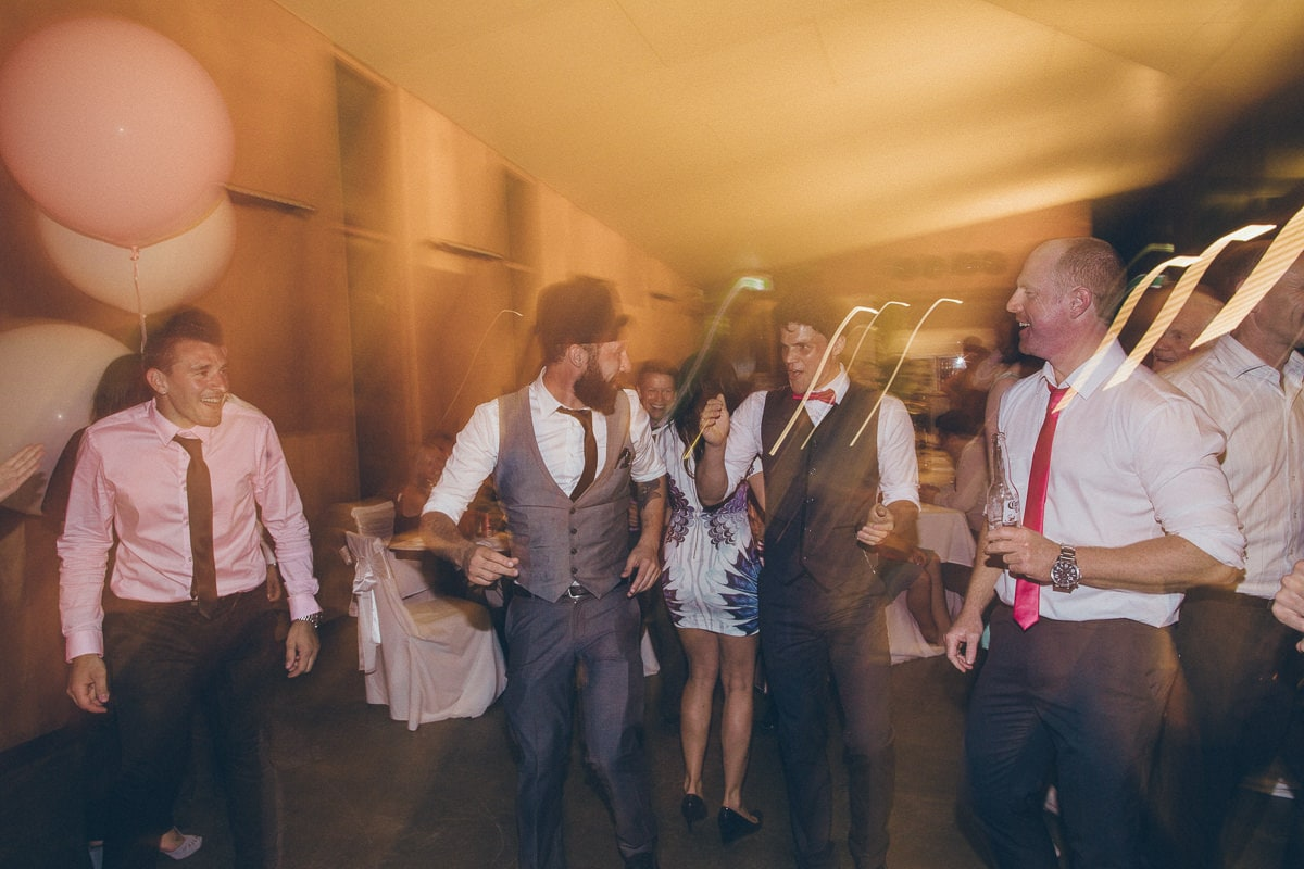 wedding function at the beach - fun photography in melbourne