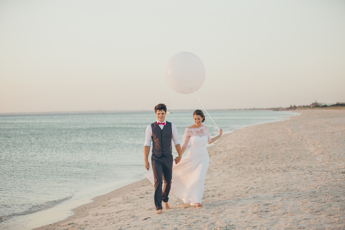 best beach wedding photographer in melbourne