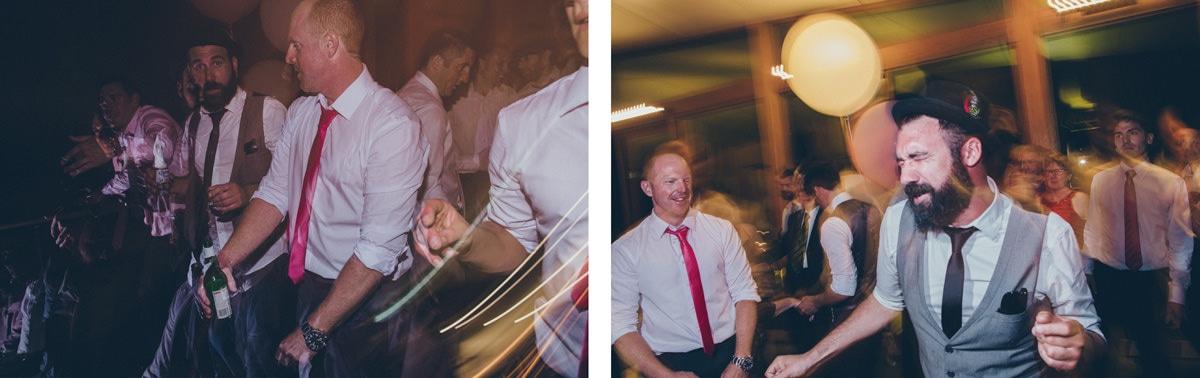 fun beach party - wedding reception photography