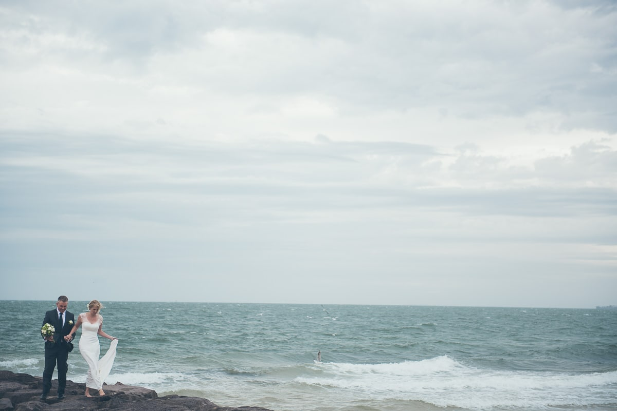ocean wedding - luxury wedding photographer in elwood
