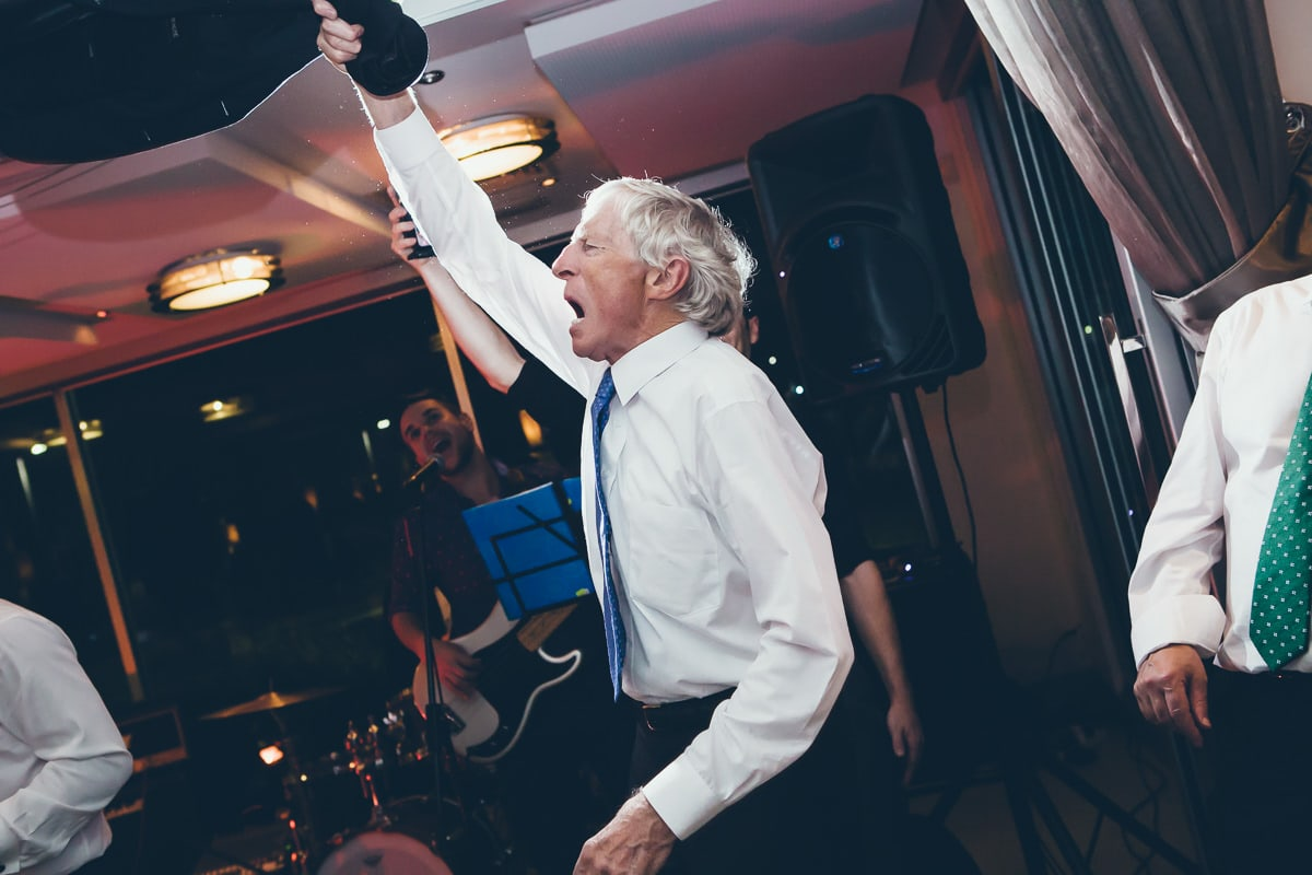 dad - at wedding - crazy and fun dance photography - best weddings in melbourne