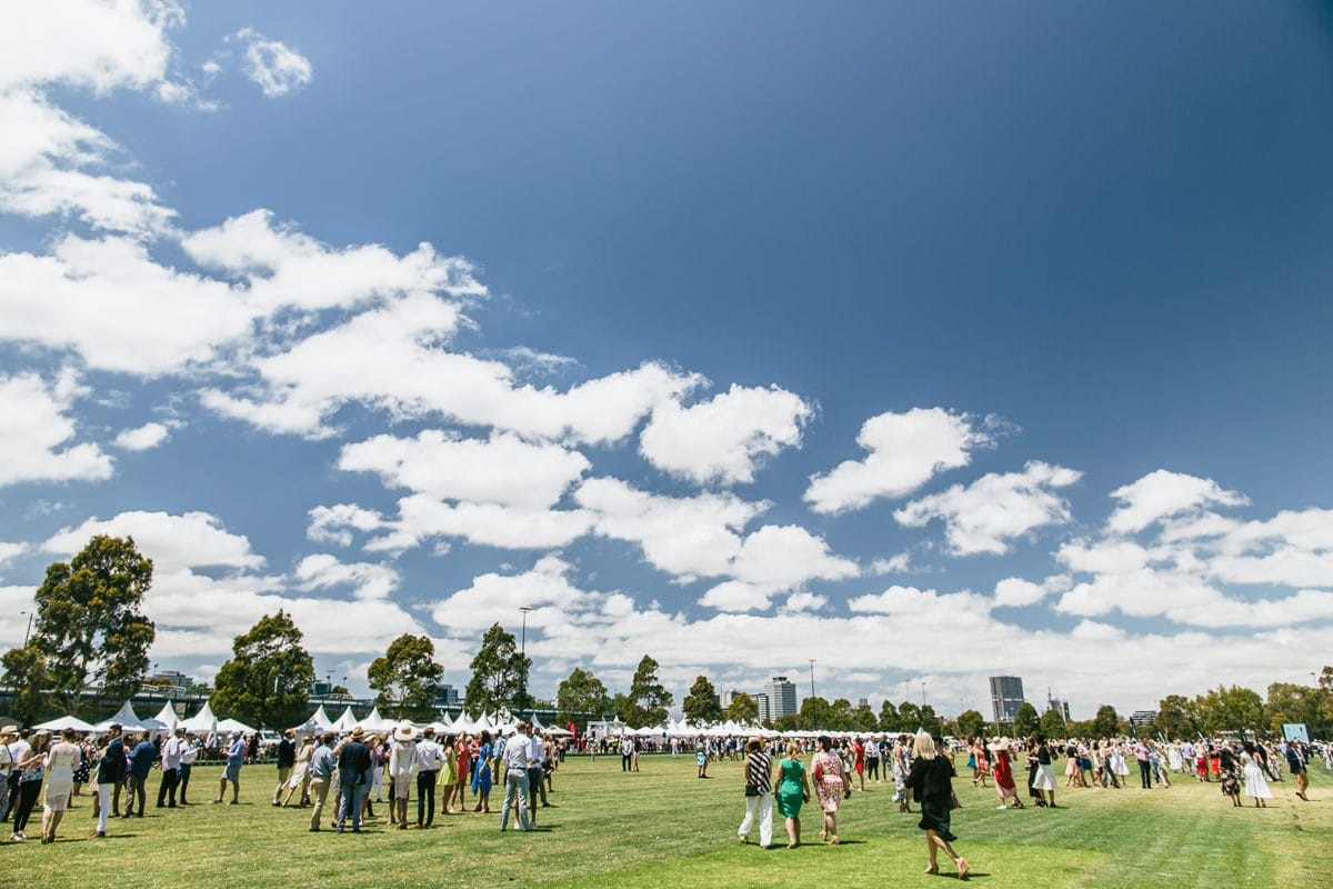 Polo in the city Melbourne - event photography