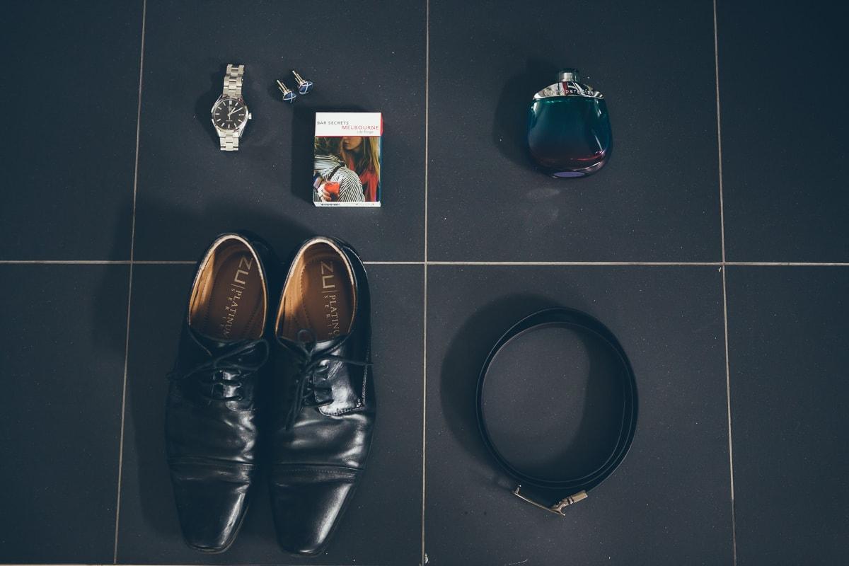 groom - details