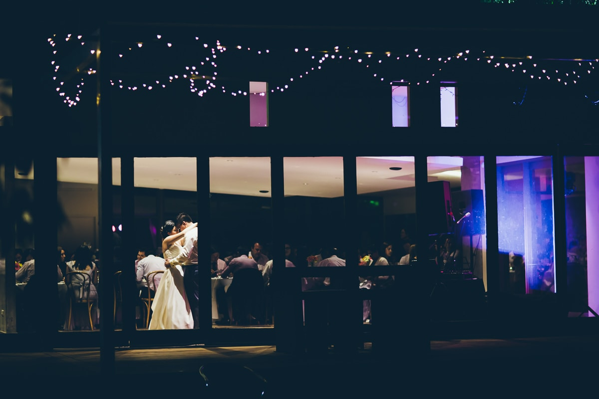couple first dance at the boulevard in kew  - asian weddings in melbourne