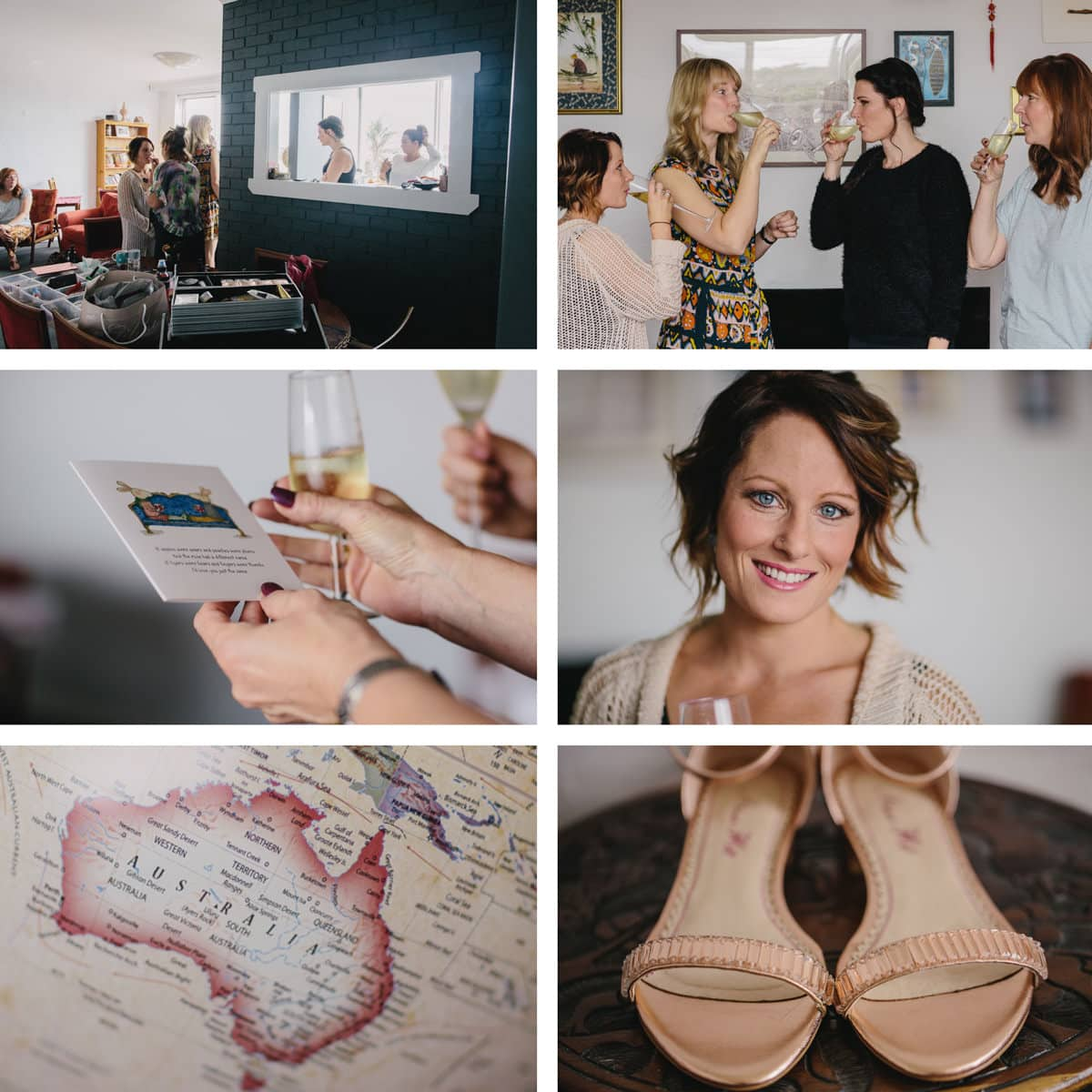 australian wedding preparation - Melbourne CBD wedding