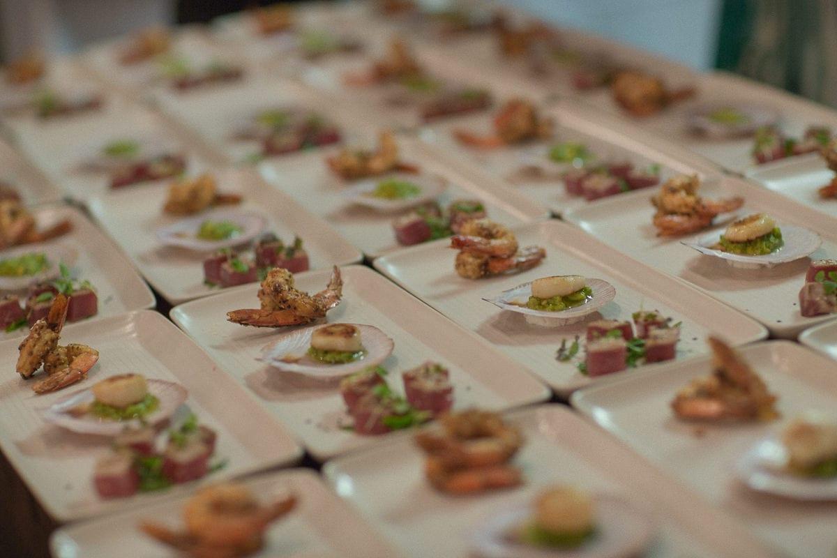 wedding catering - external kitchen