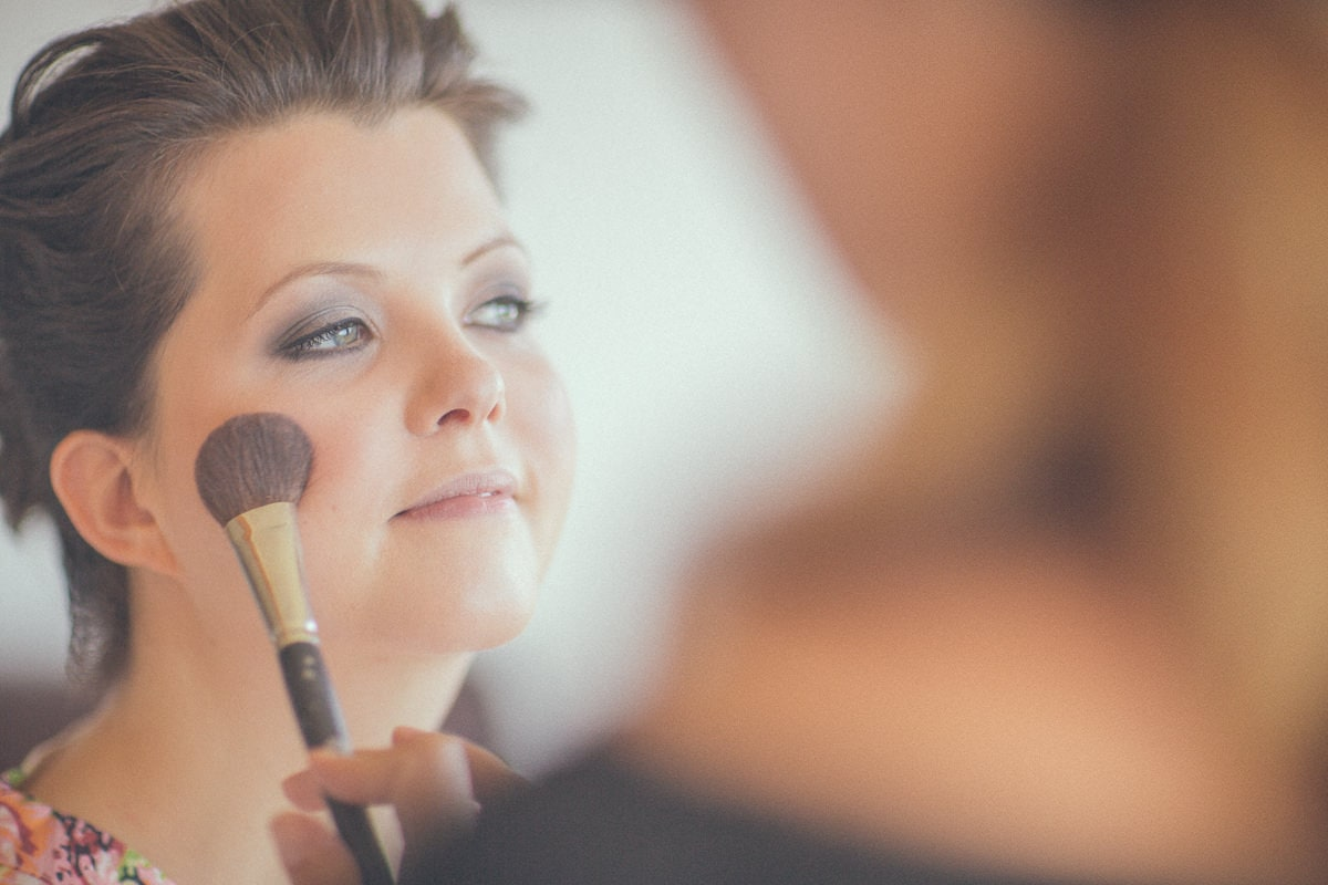 make up session - bridal portrait