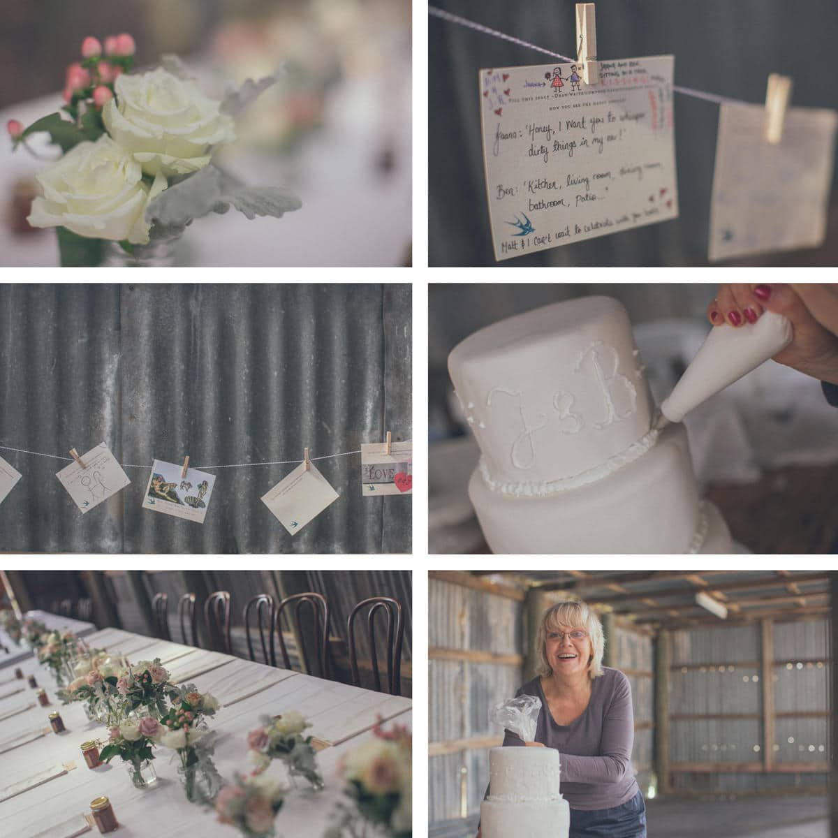 barn wedding decoration - a wedding with a vintage touch