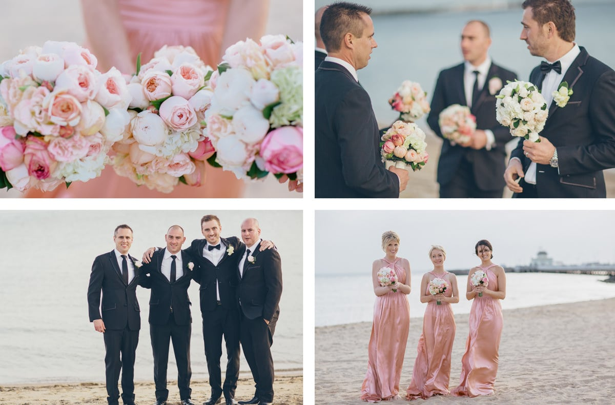 st kilda beach wedding photographer