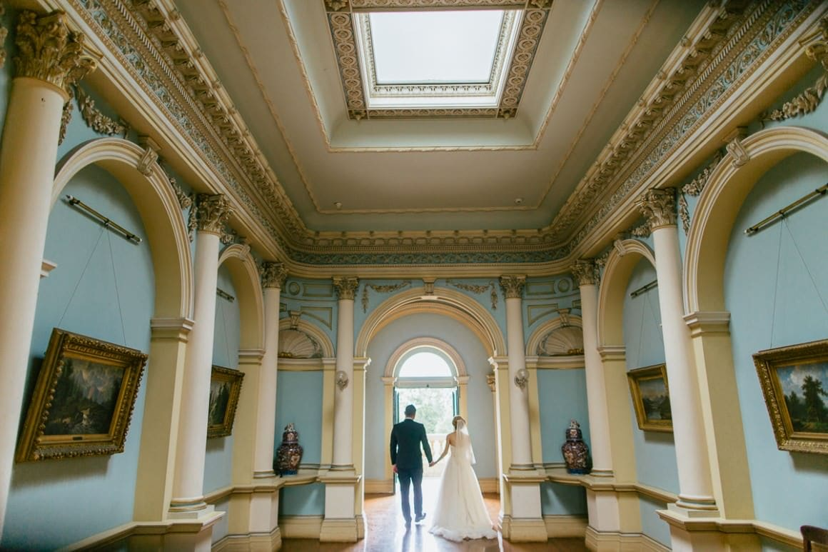 Mansion werribee wedding