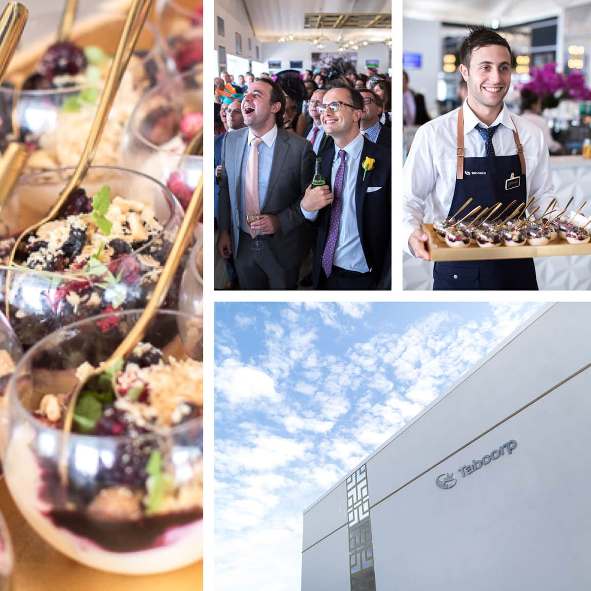 luxury birdcage marquee in Melbourne at Spring Racing Carnival - Event Photography