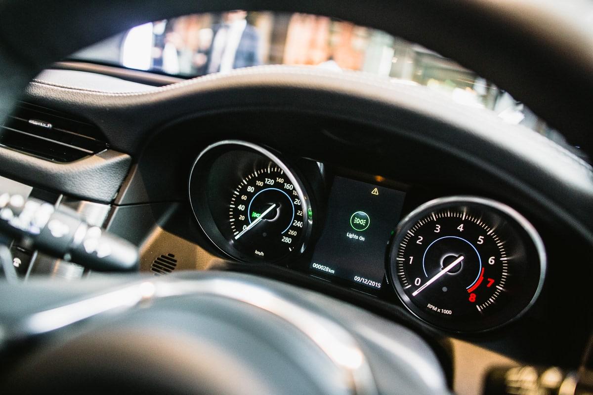 luxury car events melbourne - jaguar interior