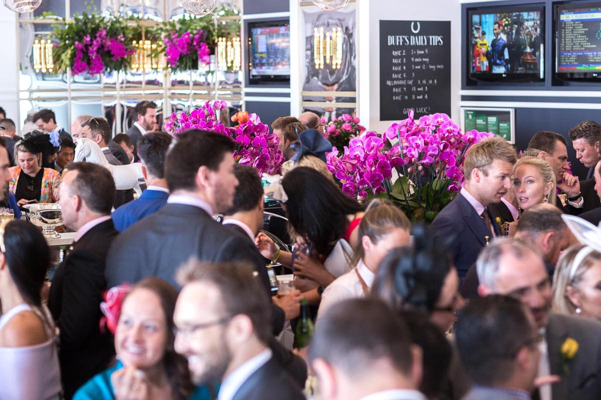 Dancing, drinking, having fun at the Melbourne Cup events - Relaxed and stunning photography